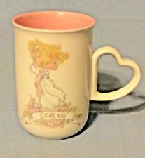 Vintage Enesco Precious Moments 1990 Darling Cup Mug Samuel Butcher Korea Euc