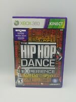 The Hip Hop Dance Experience (Microsoft Xbox 360, 2012) with manual