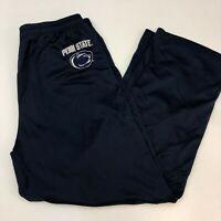 J. America Athletic Sweat Pants Men's Size 2XL XXL Penn State Navy Elastic Waist