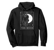 Tarot Card Crescent Moon And Cat Witchy The Moon Tarot Moon Child Psychic Tarot