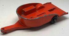 Matchbox Lesney No 38 Orange Honda Motorcycle Trailer