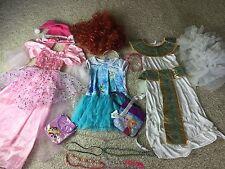 Princess Dress Up Lot Purse 8/9 10/11 Yr Costume Gown Sparkle Purple