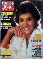 Mag rare 1984: LINDA DE SUZA_VERONIQUE JANNOT_MICHEL SARDOU_MICHAEL JACKSON