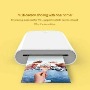 Xiaomi Mijia AR Pocket Photo Printer 300dpi Bluetooth 5.0 With 55 paper lot