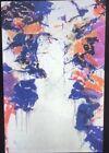 """Sam Francis """"Shining Back """" Modern American Art 35mm Glass Slide"""