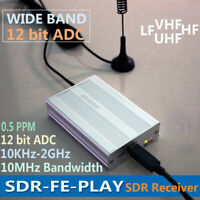 SDR-FE-PLAY 10KHz to 2GHz HF UHF VHF UV Wideband Full SDR RF Spectrum Stereo