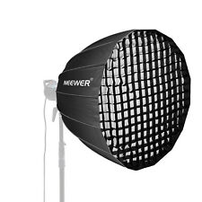 Neewer 38 inches Deep Parabolic Softbox with Bowens Mount for Speedlites Flash