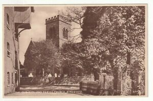 An Early Valentine's Post Card of Old Mill And Parish Church, Ringwood. Hants'