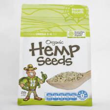 Hemp Seeds Australian Certified Organic 250g