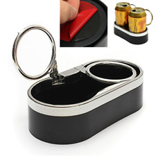 Dual Folding Drink Cup Can Bracket Holder Sticker for Boat Car RV Truck SUV Van