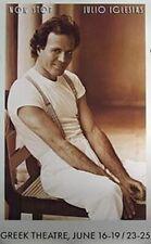 Julio Iglesias ('88 Promo Poster) Original Music Poster