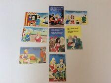 17 Vintage Comic  Seaside Postcards ( Cardtoon)