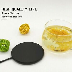 USB Silicone Heating Coaster Warmer Electric Insulation Mug Cup Heater Mat UK