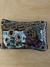 boyds bears Throw pillow Sunflower Vintage