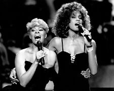 "Whitney Houston / Dionne Warwick 10"" x 8"" Photograph"