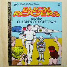 Vintage - A Little Golden Book - Buck Rogers and the Children of Hopetown No.500