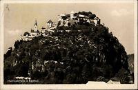 Hochosterwitz bei St. Georgen Kärnten alte Ansichtskarte 1930 Blick auf die Burg