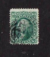 United States stamp #68, used, SCV $55