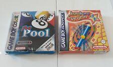 Lotto 2 giochi per Nintendo Game Boy Advance e Color NO Mario Pokémon Metroid