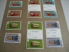 GUERNSEY    184-87  1979 THE 100th ANNIVERSARY OF TRANSPORT    SINGLE STAMP AND