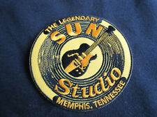 Sun Records Memphis TN Rock'n Roll Studio Vintage Patch Elvis Presley Jonny Cash