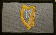 Ireland Irish Harp Flag Patch W/ VELCRO® Brand Fastener Tactical Morale Emblem