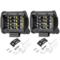 72W LED Arbeitsscheinwerfer Offroad Traktor Bagger Auto 12V Flutlicht Strahler