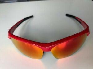 Impress Small BSG-48 Sport Glasses / Gloss Red / Three Interchangeable Lenses