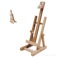 Tabletop Easel Stand Desk Display Stand Painting Crafts Artist Pic Photo Holder