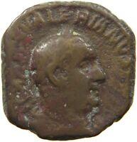 ROME EMPIRE VALERIANUS SESTERTIUS #t141 231