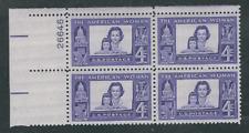 Scott #1152....4 Cent...  American Woman...10 Plate Blocks...40 Stamps
