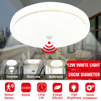 LED Motion Sensor Ceiling Light Bedroom Kitchen Rond Panel Home Fixtre La