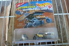 1996 Hot Wheels Action Pack JPL Sojourner Mars Rover Lander Mars Pathfinder