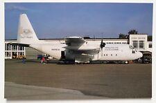 Lesea Global Lockheed C-130A Postcard
