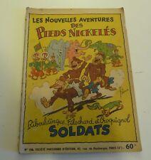 NOV9 --  LES  PIEDS NICKELÉS   N° 16   édition originale 1951