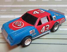 para H0 coche slot racing Maqueta de tren Buick NASCAR N º 43 CON TYCO CHASIS