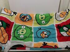 Angry Birds Kids/Teens Full Comforter, Room Decor Reversible Angry Bird EUC