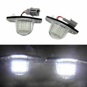 2Pc 18 LED License Plate Light For Honda Jazz Odyssey Stream CRV FRV Night Light