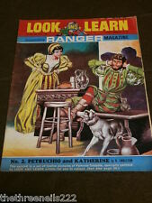 LOOK and LEARN # 287 - PETRUCHIO & KATHERINE - JULY 15 1967
