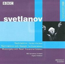 Isle of the Dead Op 29 / Picture at an Exhibition, Rachmaninoff, Svetlanov, Good
