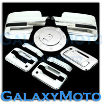09-14 Ford F150 Chrome Mirror+2 Door Handle+no keypad+PSG KH+Tailgate+GAS Cover