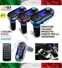 VIVAVOCE BLUETOOTH AUTO CELLULARE MP3 USB RICARICA FIAT FIORINO GRANDE PUNTO EVO