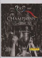 Panini Champions of Europe Empty Album
