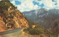 Postcard Sequoia National Park California