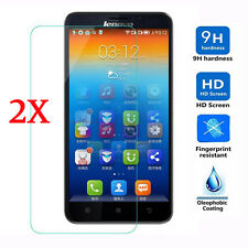 9H Real Premium Tempered Glass Screen Protector Guard For Lenovo Cell Phone 2pcs