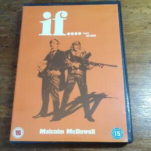 If Malcolm McDowell DVD (Region 2 Europe) LIKE NEW