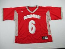 Sacred Heart Pioneers adidas Game Jersey Men's Red Used Multiple Sizes