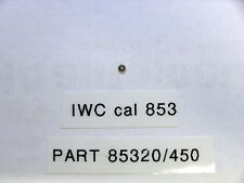 IWC cal 852/853 intermediate wheel part 85320        450