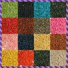 """100 Perles Bois Tube """"Plusieurs coloris de dispo"""""""