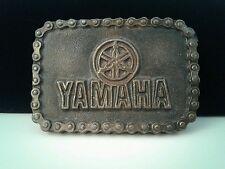 Yamaha Metal Belt Buckle - wrap around chain design retro/vintage